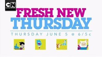 Fresh New Thursday Cartoon Network