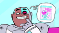 Cyborg and video game.png