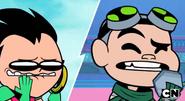 Robin prank calling Gizmo