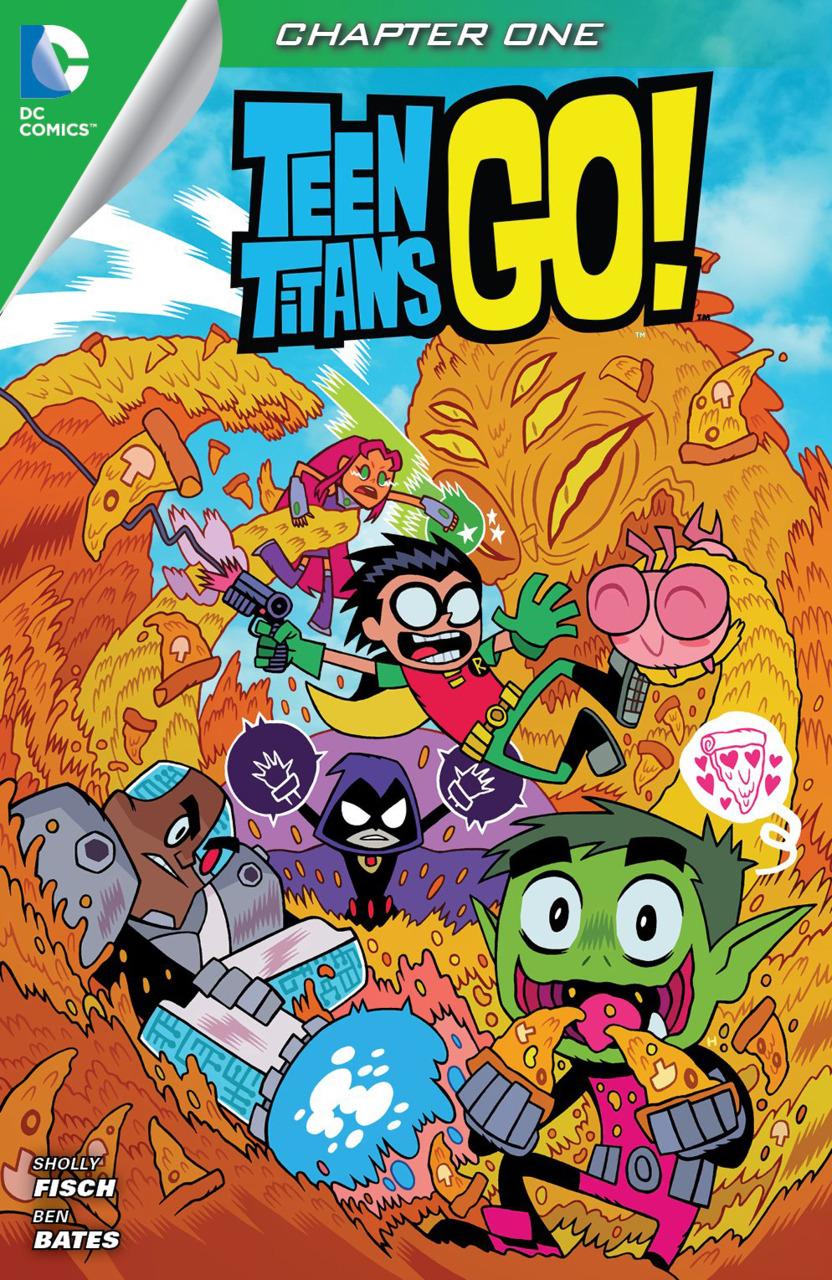 DC COMICS TEEN TITANS GO Series 2 Mini-Figurine-Cyborg Freak Out
