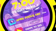 April Fool's Day reminder
