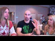 Greg Cipes, Scott Menville, & Tara Strong SDCC 2014 Interview
