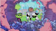 Beast Boy and Cyborg is here!