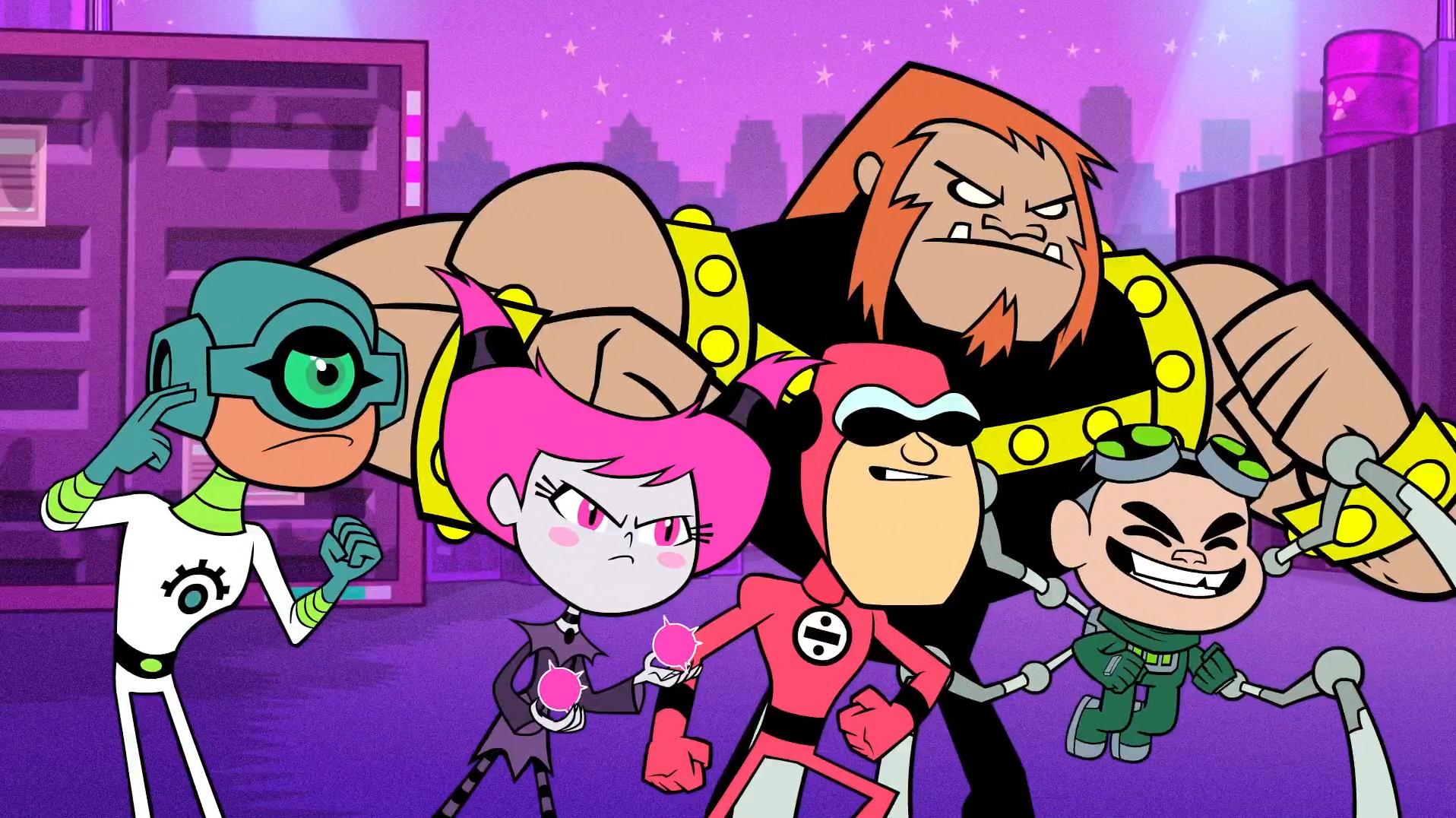 Teen titans episodes bio
