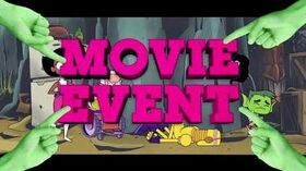 "Cartoon Network - Teen Titans Go! - ""That's What's Up"" Movie Event Promo (30s) - November 27, 2019"