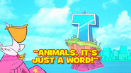 Animals Its Just A Word Titlecard