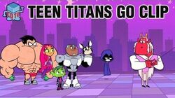 Teen Titans Go DOG HAND Official Clip