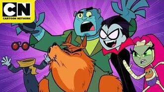 Teen Titans GO! Scary Rap Cartoon Network