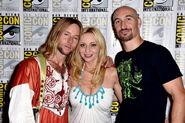 Greg Cipes, Tara Strong & Scott Menville SDCC 2014