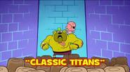 Classic Titans Title Card