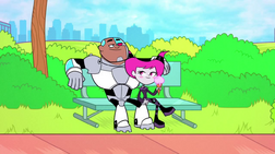 Cyborg and Jinx in Opposites