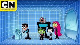 Teen Titans GO! Teen Titans in Space Cartoon Network