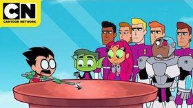 Teen Titans GO! Batman Goes Camping Cartoon Network