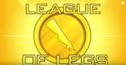League of Legs backdrop