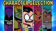 Character Selection Slash of Justice