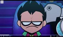 Robin com raiva