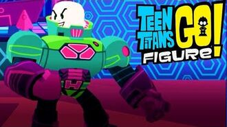 Teen Titans GO Figure Battle vs Lex Luthor - Riddler (Legion of Doom Update)