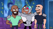 Khary Payton, Cyborg and Scott Menville 200th ep.1