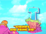 Shrimps and Prime Rib