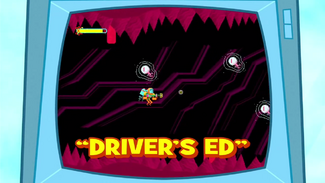 Driver's Ed title card