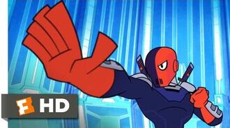 Teen Titans GO! to the Movies (2018) - Deathstroke, NOT Deadpool Scene (3 10) Movieclips