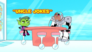 Uncle jokes title card