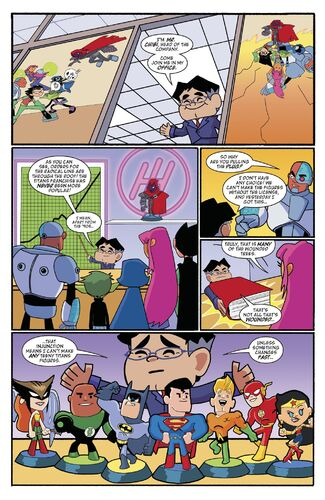 Teen Titans Go Figure! Page 7