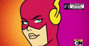 Starfire as The Flash Two Parter Part2