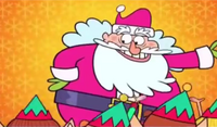 Jolly Fat Man Santa