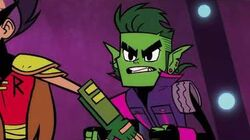 """Cartoon Network - Teen Titans Go - """"The Night Begins To Shine 2"""" Special Movie Event Promo (July 10)-2"""