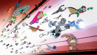 Teen Titans Go! Vs. Teen Titans - Exclusive Official Trailer 1-47 screenshot