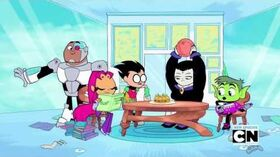 Teen Titans Go! Season 2 Episode 38 Oil Drums Clip
