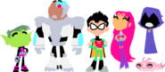 Teen titans go the teen titans by samueljellis-d9b3ww6
