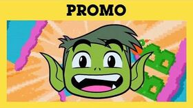 "Cartoon Network - ""Beast Boy's Birthday"" promo (BBRBDAY)"