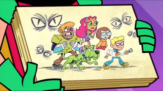 S4E40 Teen Titans as Mystery Incorporated