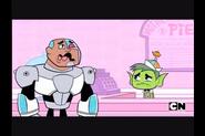 Cyborg cries