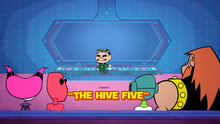 The HIVE Five Titlecard