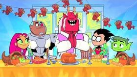 Teen Titans Go Thanksgiving Episode Official Clip