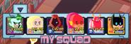 Teeny Titans game squad