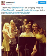 Wally T TTG Tweet
