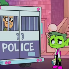 Beast Boy get Ed imprisoned.