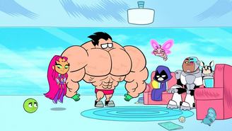 The titans with new powers