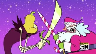 Halloween Spirit vs Santa Claus TTG