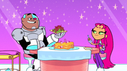 Starfire and Cyborg Booby Trap House