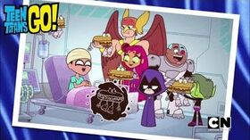 Teen Titans Go! - Vegan Cheesesteak Saves Robin (Season 5, Episode 45)