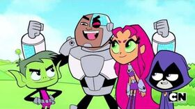 NEW Teen Titans Go! S04E15 - The Gold Standard (PREVIEW) (720p HD)
