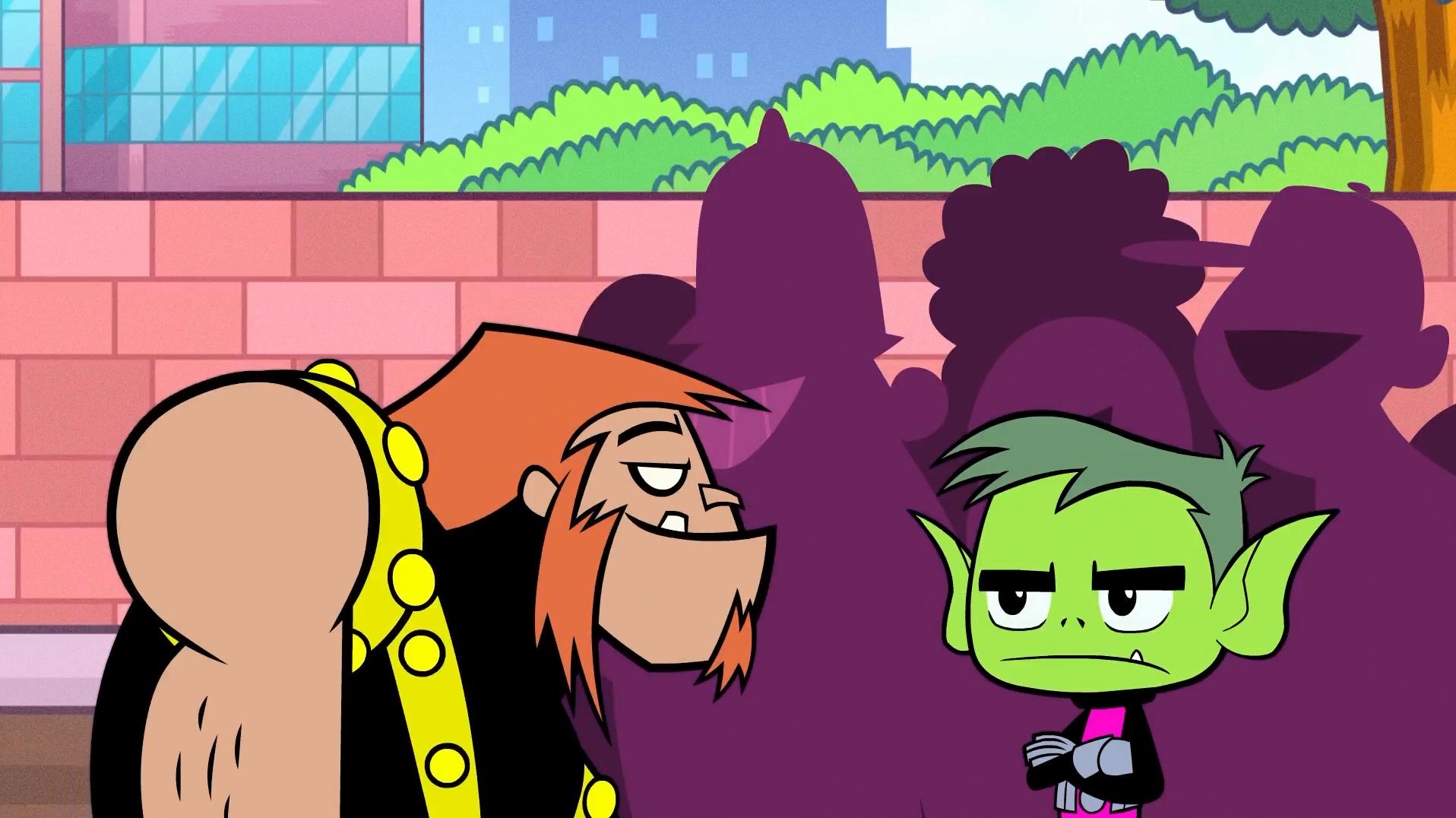 Teen Titans Go Lesbian