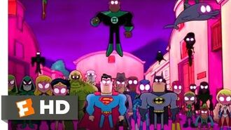 Teen Titans GO! to the Movies (2018) - Justice League vs Teen Titans Scene (9 10) Movieclips
