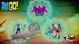 Teen Titans Go! - TV Knight 5 Ending (Season 6, Episode 2)