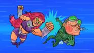 Serious Starfire VS Gizmo